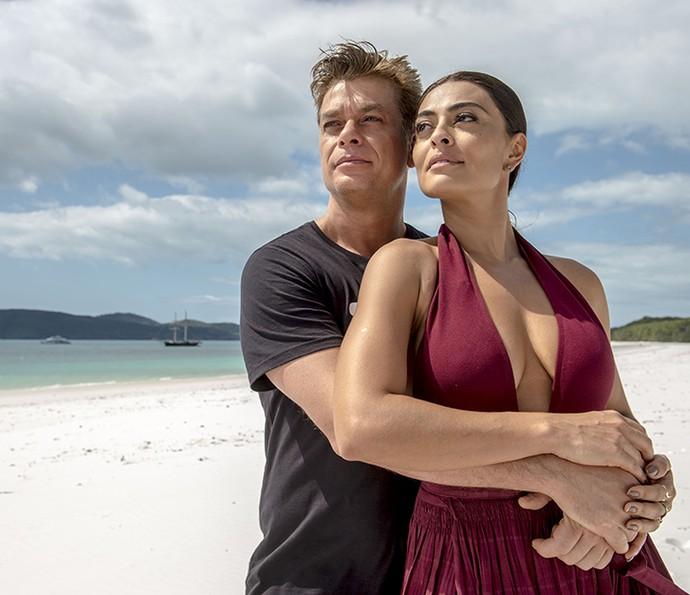 #Carthur: fãs definem casal interpretado por Fábio Assunção e Juliana Paes (Foto: Renato Rocha Miranda / TV Globo)