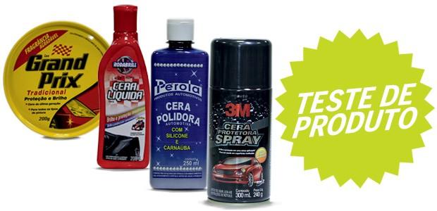 Teste de produtos: Ceras (Foto: Autoesporte)