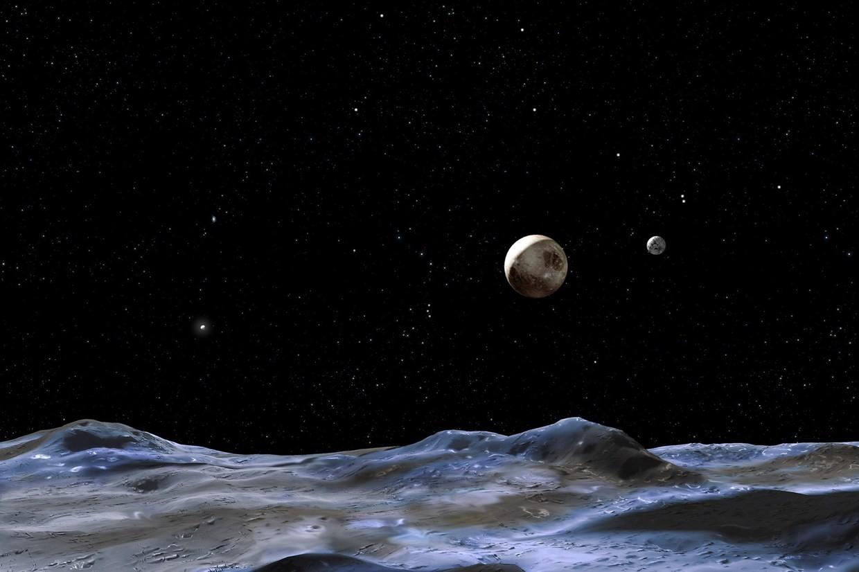 Uma das luas de Plutão esconde um antigo oceano?