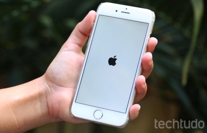 Reinicie o dispositivo (Foto: Luciana Maline/TechTudo)