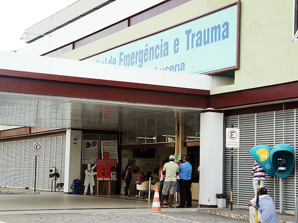 Hospital de Emergência e Trauma de João Pessoa (Foto: Maurício Melo/G1)
