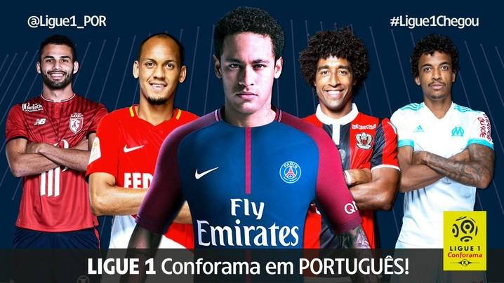 Twitter Ligue 1 Liga Francesa