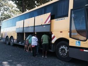Vítimas prestaram queixa na central de flagrantes (Foto: Paula Nunes/G1)