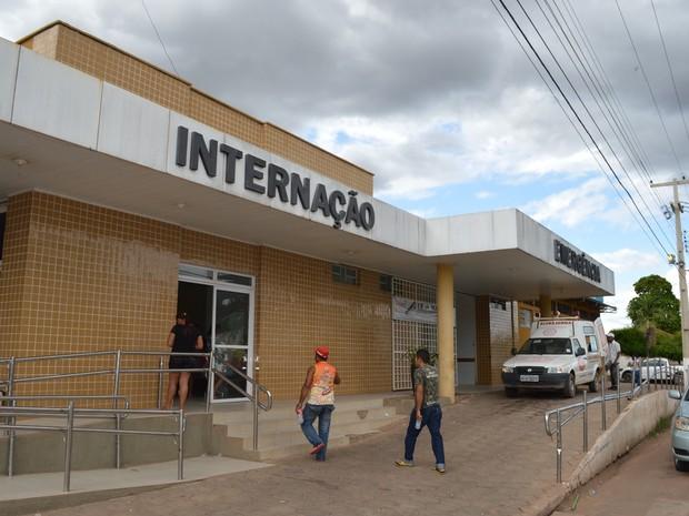 Hospital de Bom Jesus (Foto: João Vitor/Portal B1)