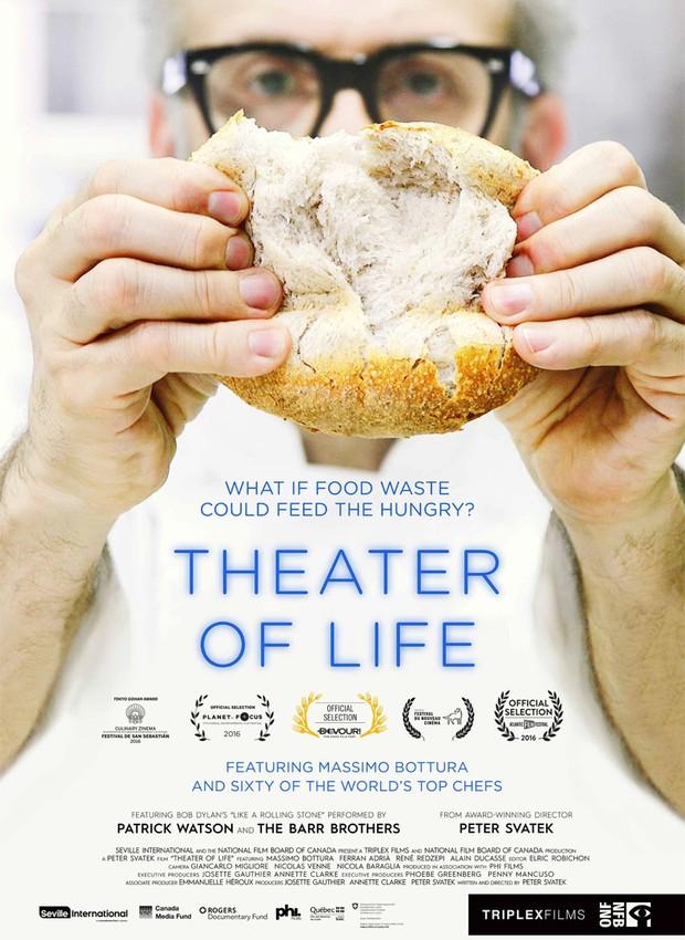 Poster do documentário Massimo Bottura: Teatro da Vida (Foto: Divulgação )