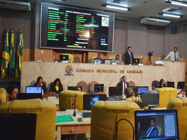 Assunto rendeu nesta quarta-feira (26) na Câmara dos Vereadores de Aracaju (Foto: Marina Fontenele/G1)