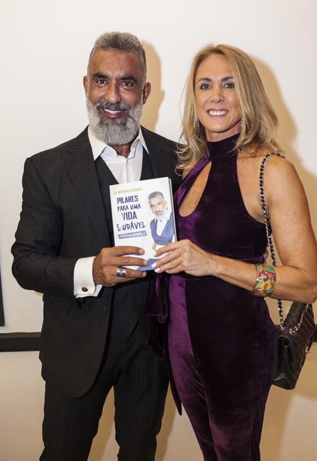Dr. Barakat e Hortência (Foto: Fred Chalub / Ed. Globo)