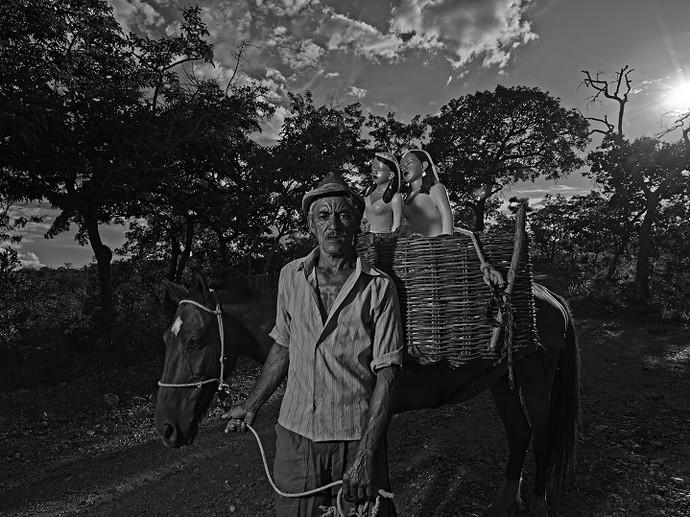 Chiquinho, da comunidade de Coqueiro Campo (Foto: Maurício Nahas)
