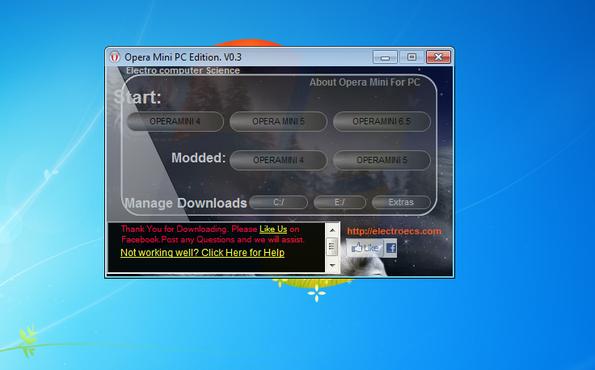 Use o opera mobile no pc e economize na navegação