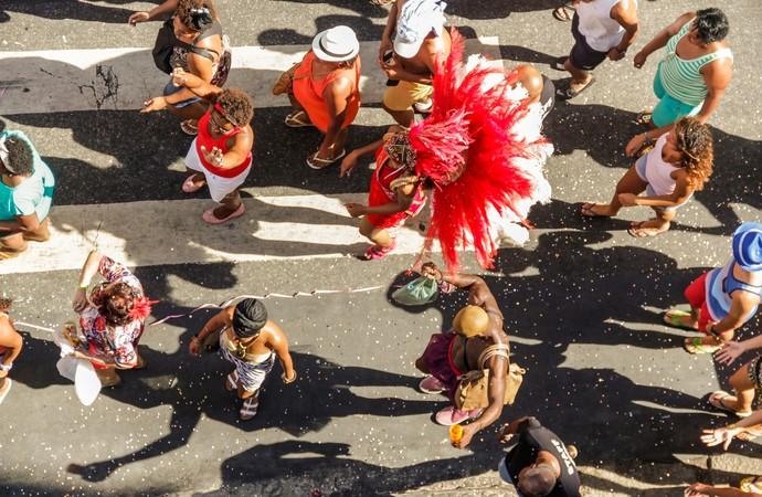 Carnaval: exigência física pode gerar lesões (Foto: iStock Photo)