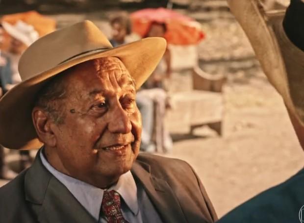 Tácito Borralho é um dos 70 atores nordestinos escalados para Velho Chico (Foto: Reprodução/Globo)