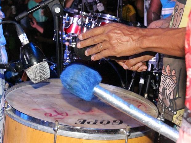 Músicos tocaram marchinhas tradicionais (Foto: Suelen Gonçalves/ G1 AM)