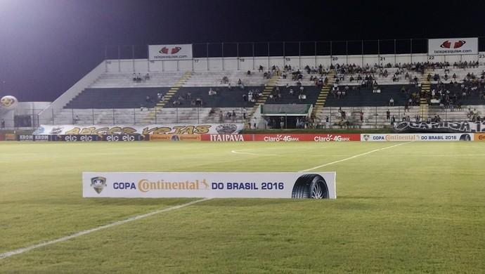 Estádio Frasqueirão - ABC x Goianésia - Copa do Brasil (Foto: Jocaff Souza/GloboEsporte.com)