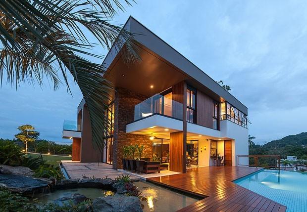 Top 10 as casas brasileiras de 2013 casa vogue casas for Casas modernas famosas