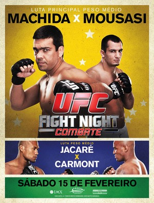UFC Fight Night: Machida vs Mousasi - Póster oficial