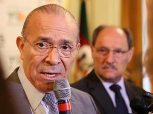 Ministro-chefe da Casa Civil, Eliseu Padilha, falou sobre o calendário do FGTS inativo (Foto: Luiz Chaves/Palácio Piratini)