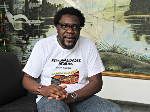 Luiz Fernando Costa enfatizou que � preciso o resgate de tradi��es negras (Foto: Adneison Severiano/G1 AM)