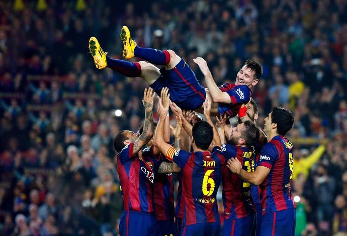 Barcelona x Sevilla - Messi (Foto: Reuters)