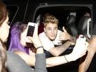Justin Bieber janta com irmã caçula de Kim Kardashian