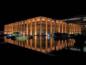 Palácio do Itamaraty, onde será a recepção a Dilma após a diplomação (Foto: Werner Zotz/Itamaraty)