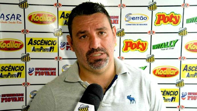 Guilherme Alves, técnico do Novorizontino (Foto: Wiliam Lima / Novorizontino)