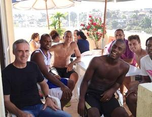 Andrey e Flavio Tenius Botafogo Jefferson (Foto: Divulgação / Arquivo Pessoal)