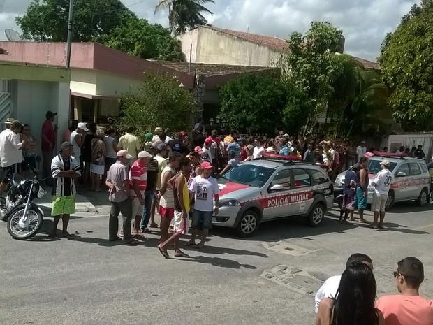 Homicídio aconteceu dentro da casa do casal em Esperança (Foto: Inácio Silva/Arquivo Pessoal)