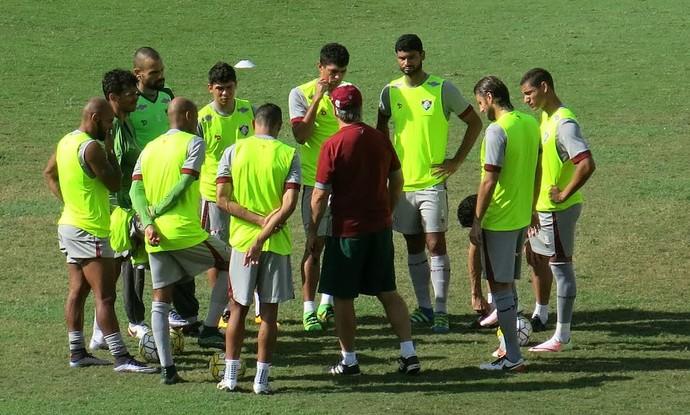 Fluminense treino (Foto: Edgard Maciel de Sá/ Globoesporte.com)