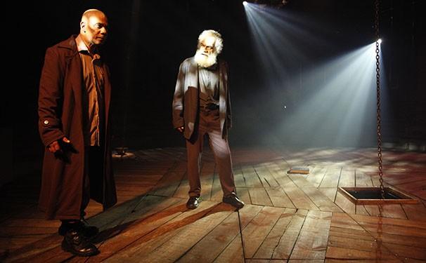 O elenco é formado por Cacá Amaral e Guilherme Sant'Anna (Foto: Divulgação)