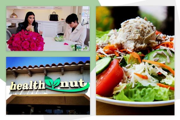O restaurante Health Nut ficou famoso graças ao seriado Keeping Up With The Kardashians (Foto: Divulgação)