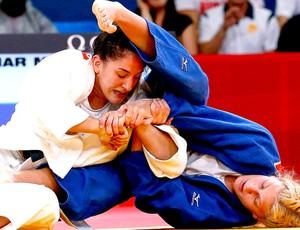 judô maura aguiar Kayla Harrison londres 2012 (Foto: Agência Reuters)