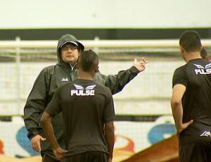 Guto Ferreira técnico Ponte Preta Macaca (Foto: Reprodução EPTV)