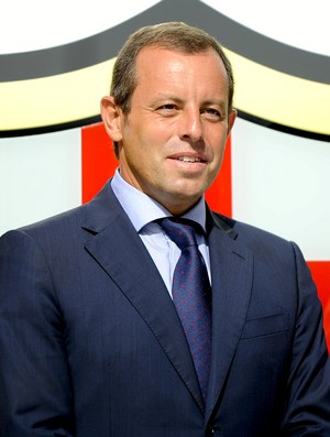 Sandro Rosell presidente Barcelona (Foto: Getty Images)