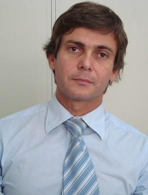 Promotor Alexandre Jorge é quem está responsável pelas investigações contra a Federação Paraibana (Foto: Larissa Keren / Globoesporte.com/pb) - promotor_alexandre_jorge
