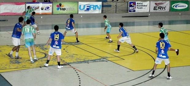 Campeonato Potiguar de Handebol tem mais uma etapa no fim de semana (Foto: Divulgação/NHT)