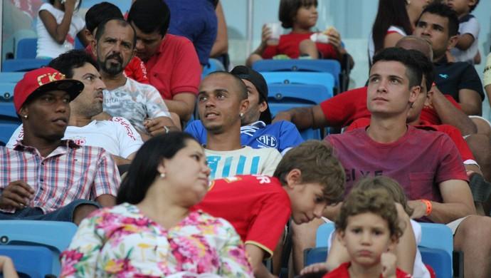 Matheus Barbosa -  volante do América-RN (Foto: Diego Simonetti/Blog do Major)