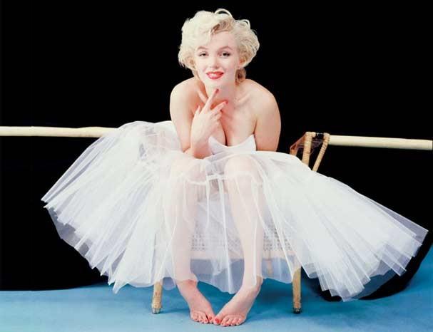 O cabelo loiro mais famoso do mundo, da diva Marilyn Monroe (Foto: Reprodução)