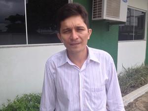 Presidente da Acet, Luis Xavier, diz que quatro municípios não se inscreveram em programa da SDH (Foto: Abinoan Santiago/G1)