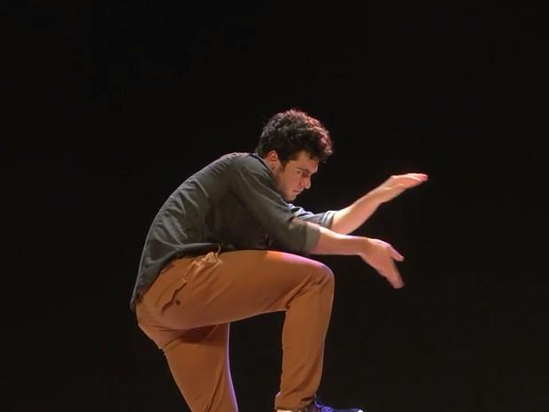 João Paulo Krug dança há seis anos (Foto: Arquivo pessoal)