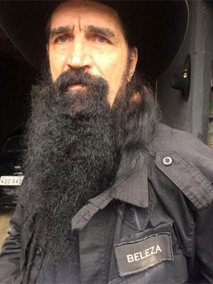 Policial usa o nome Beleza em sua farda da polícia civil (Foto: Lívia Torres / G1)