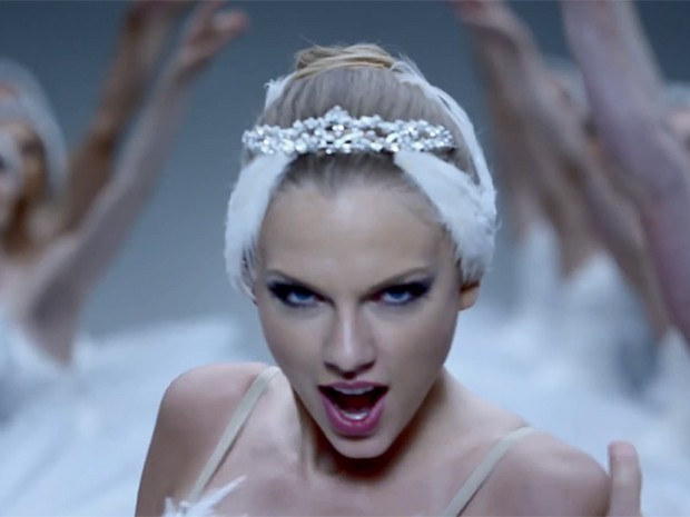 O hit 'Shake it Off' de Taylor Swiff ficou em primeiro lugar nas paradas  (Foto: Reprodução)