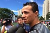 Leandro Damião evita falar sobre o Cruzeiro e torce por 2015 mais ativo