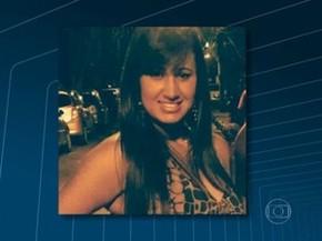 Policial Drielle Lasnor de Moraes foi baleada no rosto (Foto: Reprodução / Globo)