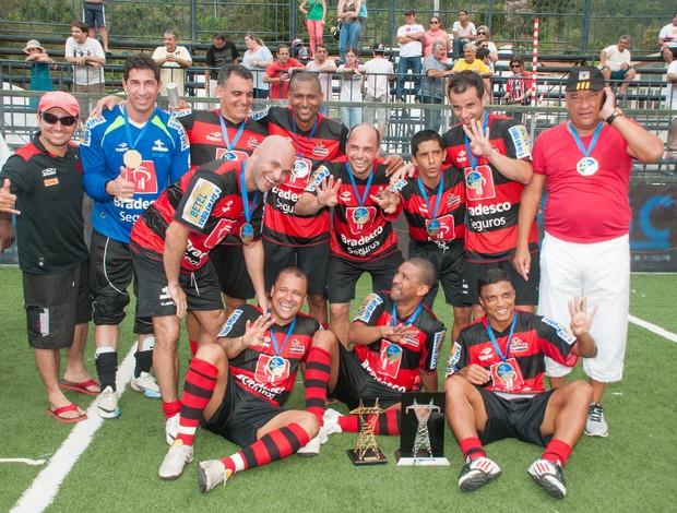 Flamengo campeão brasileiro de showbol (Foto: Luiz Carlos Quadro Jr/Divulgação)