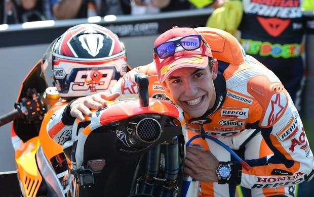 Espanhol Marc Márquez, da MotoGP, foi 'O Cara' do fim de semana (Foto: Divulgação)