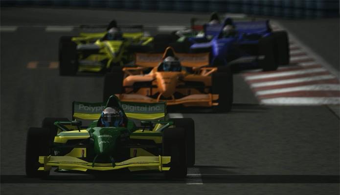 GT4 apresenta gráficos a 1080p e 60 frames por segundo. No PS2 (Foto: Divulgação/Sony)