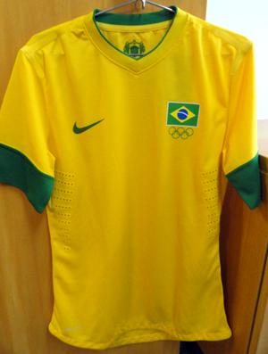 Seleção vai estrear uniformes dos Jogos de Londres no próximo sábado ... bd61cd16ac346