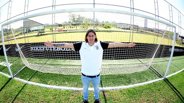Cassio Goleiro Corinthians (Foto: Marcos Ribolli / Globoesporte.com)