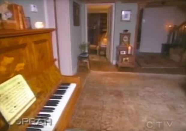 Sala com piano (Foto: Reprodução)