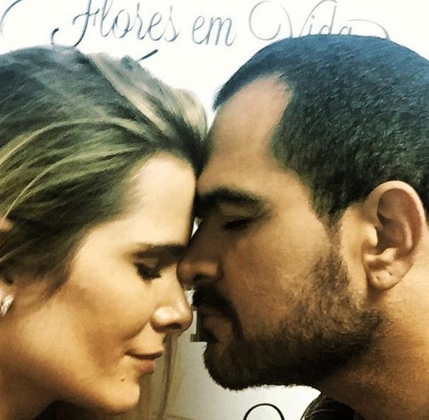 Luciano Camargo e Flávia (Foto: Reprodução/Instagram)